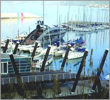 Rates Port of Sapri, piers for boats, hauling and various. marina harbor sapri, policastro